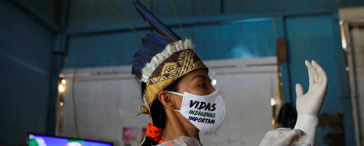 Mujeres Indígenas de las Américas frente a la pandemia del COVID-19